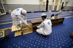 تنظيف المساجد
